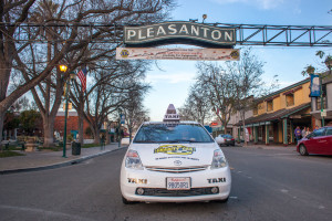 charity cab is your choice for taxi after the wonderful downtown Pleasanton restaurants.