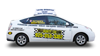 Charity Cab's taxi in Pleasanton are the cleanest and greenest.
