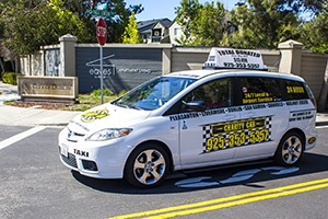 Charity Cab offers taxi in dublin ca 24/7